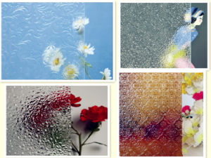 3-13mm Exquisite Clear Patterned Glass