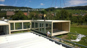 From China Best Sell Flat Pack Container House (shs-mh-liv007) pictures & photos