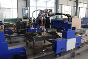 Gntry Type CNC Plasma and Flame Cutting Machine pictures & photos