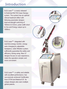 Picosecond Q Swithed ND YAG Laser with FDA Approved pictures & photos