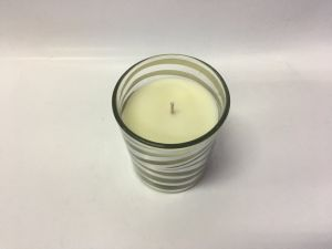 New Designed Slivering Glass Jar Paraffin Wax or Natural Soy Wax Candle pictures & photos