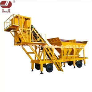 Mobile Concrete Batching Plant (YHZS25) pictures & photos