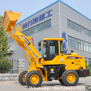 Hydraulic Wheel Small Loader with Joysticks pictures & photos