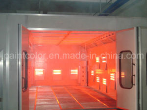 Low Price Infrared Baking Paint Booth pictures & photos