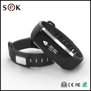 Blood Pressure Heart Rate Monitor Pedometer Bluetooth 4.0 Smart Bracelet M2 Fitness Smart Watch pictures & photos