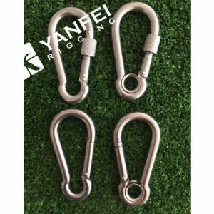 Various of Stainless Steel Carbine Snap Hook pictures & photos