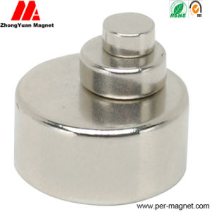 Sintered Zn Plated N52 Permanent Disc NdFeB Neodymium Magnet pictures & photos