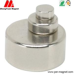 Sintered Zn Plated N52 Permanent Disc NdFeB Neodymium Magnet