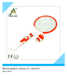Rechargeable Mosquito Swatter with LED Light (CHLJ-A014)