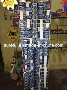 License Plate Stand Display pictures & photos