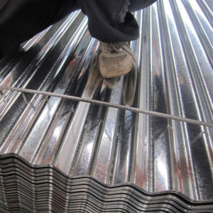 JIS G3302 SGCC Hot Dipped Galvanized Steel Roofing Sheet pictures & photos