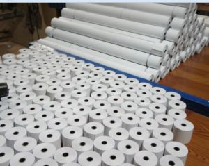 Thermal Paper Rolls for POS and Fax pictures & photos