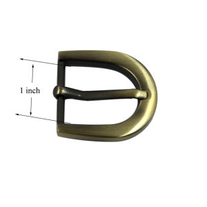 1 Inch Pin Buckle Metal Belt Buckle Round Belt Buckle pictures & photos