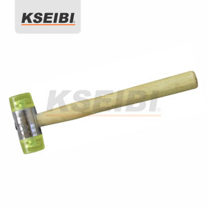 Kseibi One Way Soft Head Mallet Hammer with Wooden Hand pictures & photos