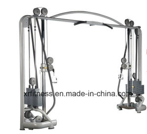 commercial gym equipment names cable crossover fitness equipment for gym use