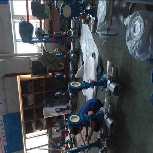 Manual Flange Ceramic Slurry Valve pictures & photos