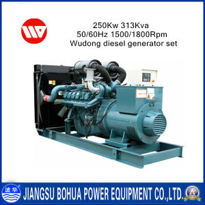 250kw 313kVA Wholsale Price Wudong Series Diesel Generators