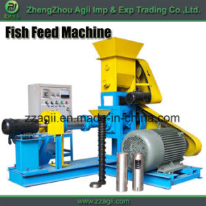 2017 China Hot Sale Animal Pet Food Floating Fish Feed Making Machine pictures & photos
