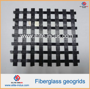 Plastic Polypropylene PP HDPE Polyester Fiberglass Biaxial Uniaxial Geogrid pictures & photos