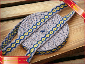 Knitted Woven Jacquard Sewing Elastic Tape for Underwear pictures & photos