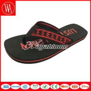 Flat Outdoors Comfort Boy′s Flip Flops Fashion Girl′s Slippers