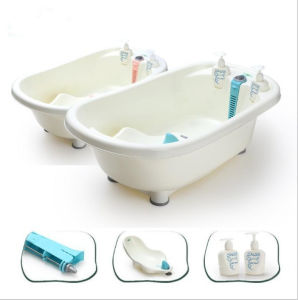 3 in 1 Baby Bath Seat Tub with Thermometer (RCB-012)