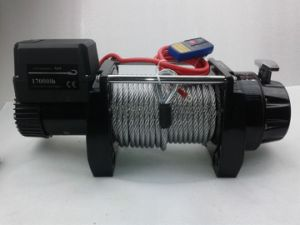4X4 Heavy Duty Electric Winch 17000lbs Steel Cable