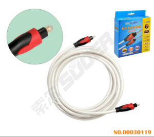 3m Digital Audio Optic Fiber Cable (AV-108-3m-Optic Fiber Cable) pictures & photos
