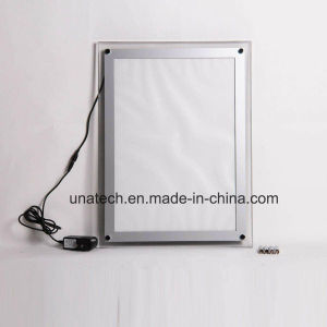 New Wall-Mounted Indoor Magnetic Crystal Manu RGB LED Light Box pictures & photos
