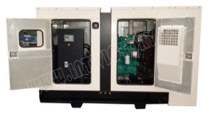 125kVA Soundproof Enclosed Cummins Powered Genset with CE Approval pictures & photos