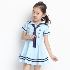 Pinafore School Uniform Factory Kindergarten Uniforms Pinafore Dress pictures & photos