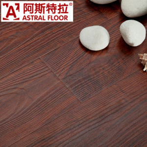 8mm HDF AC3 AC4 Real Wood Texture Surface (U-Groove) Laminate Flooring (AS2601) pictures & photos
