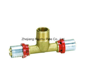 Th Press Fitting for Plastic Pipe (Tee) pictures & photos