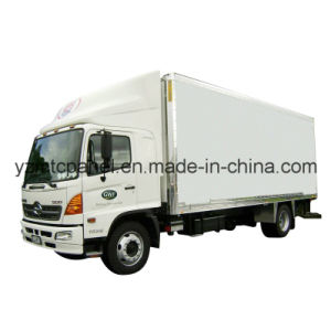 UV Resistant FRP CBU Freezer Truck Body pictures & photos