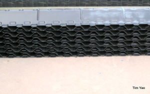 Rigid PVC Cooling Tower Drift Eliminators From Manufacture pictures & photos