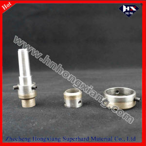 Glass Drill Bit Thread Shank Diamond Hole Saw pictures & photos