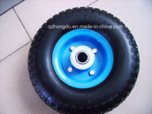 Best Price 10 Inch Pneumatic Rubber Wheel with High Quality pictures & photos