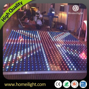 P10cm Newest Acrylic Waterproof RGB LED Dance Floor Video for Holiday Party Wedding Club Stage Show pictures & photos