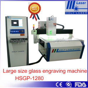 High Speed Large Size Laser Engraving Machine for Pic, Photo, Text in Glass pictures & photos