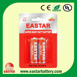 Carbon Zinc AA Dry Battery pictures & photos