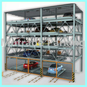 Hydraulic Vertical and Slide Multi Story Smart Parking System pictures & photos