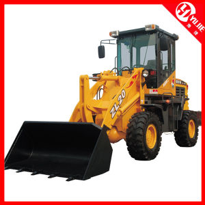 New Style and with Fork Electric Mini Wheel Loader (zl20) pictures & photos