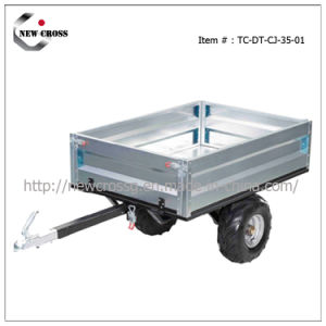 Box Trailer for ATV with Tip Bed (NCG-005-DT-CJ-35-01)