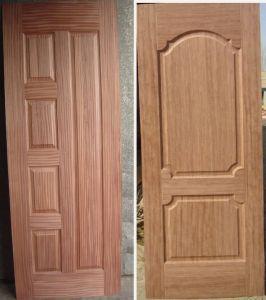 Wood Veneer HDF Door Skin pictures & photos