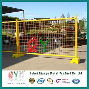 Qym-Hot Sale Welded Mesh Hot Dipped Galvanized Temporary Fence pictures & photos