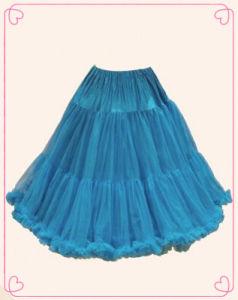 2014 Ladies Fashion Dark Blue Petticoat