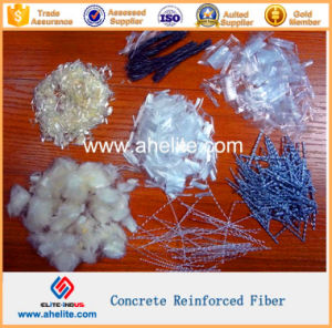100% Virgin Polypropylene PP Fiber Monofilament Fibrillated Wave Twist Hybrid pictures & photos