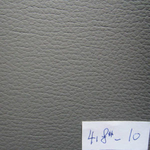 Lychee Artificial Car Seat Leather (418#) pictures & photos