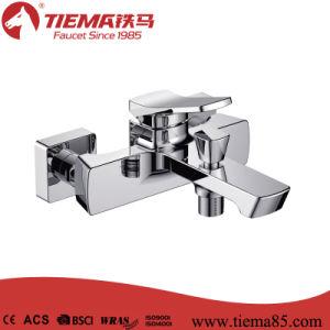 New Design Brass Body Chrome Bathroom Show Mixer (ZS64901) pictures & photos