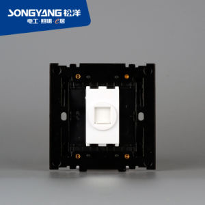 Electric Switch White Series TV Wall Socket pictures & photos